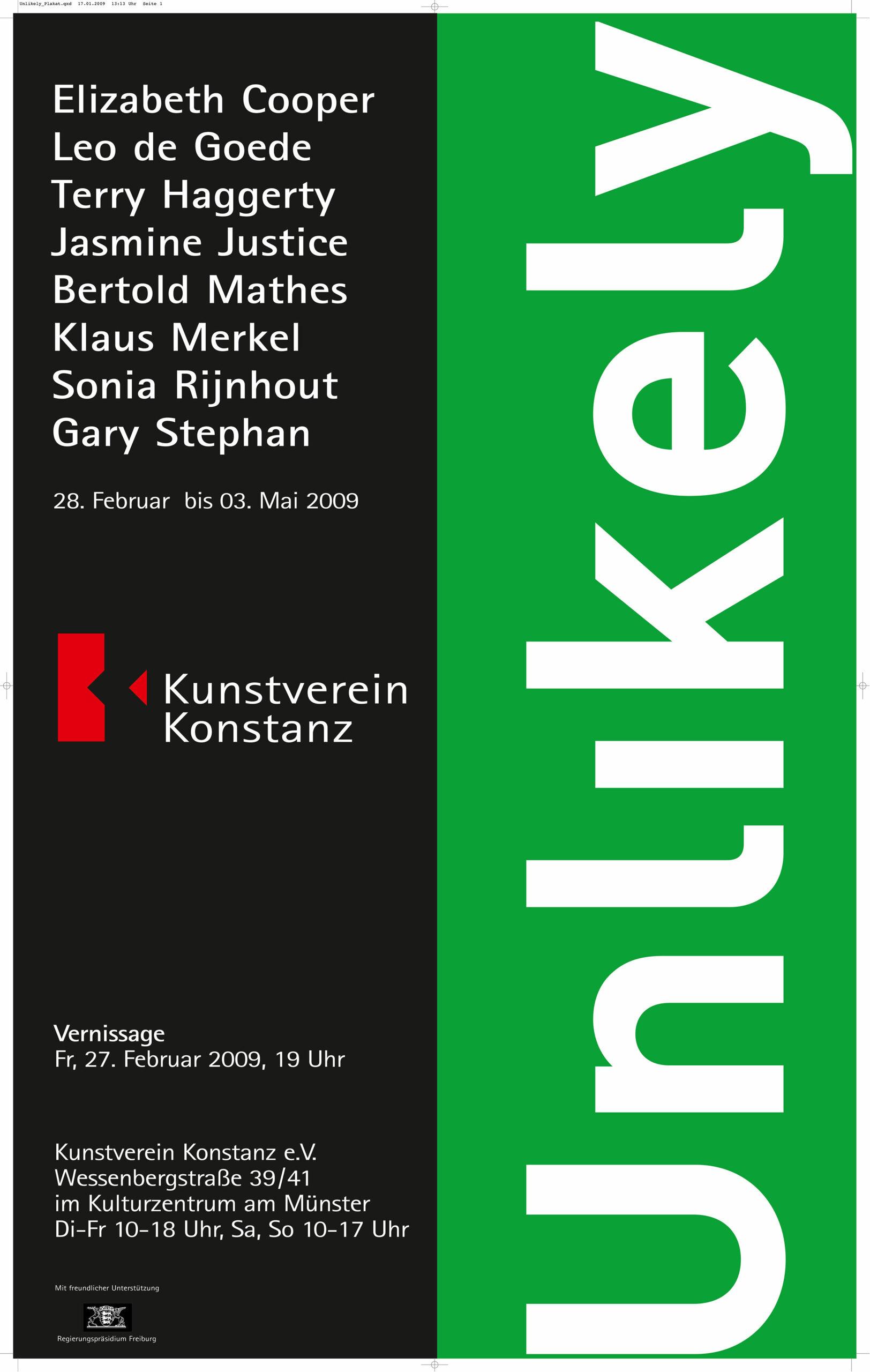 Kienzle Art Foundation, Ausstellungsansicht Gruppenausstellung